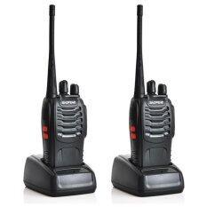 1 Pair (2 Units) BaoFeng BF-888S16 16 Channel Walkie Talkie Set UHF 5W