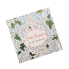 Hanyu Secret Garden Time Travel Coloring Book For Children Adult Relieve Stress Kill Graffiti Painting Drawing 12 Sheets Of Paper Not Cover