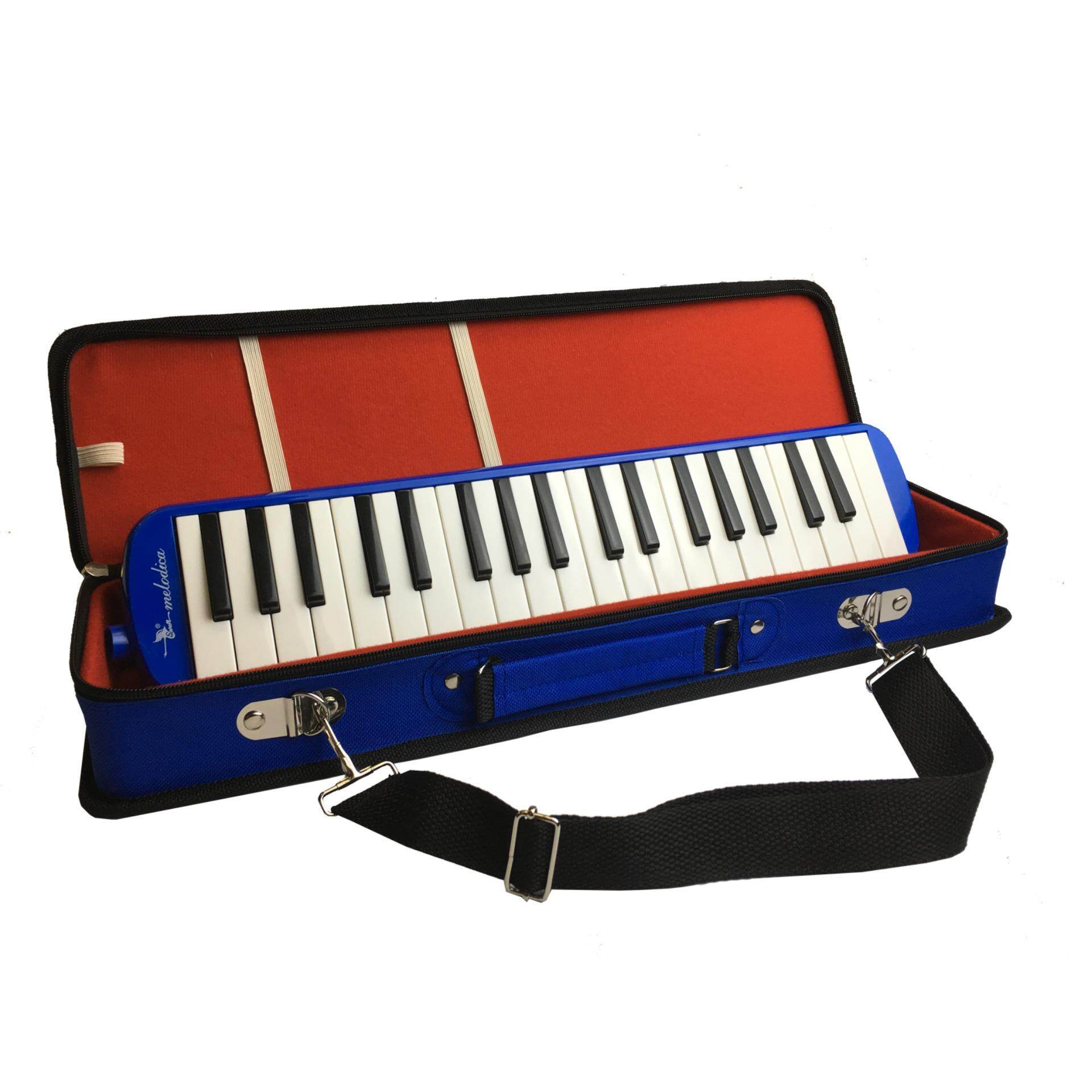 Swan 37-Key Mouth Piano Keyboard Melodica With Foam Hardcase image