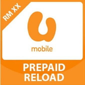 U Mobile RM 30 Direct-to-Phone Reload (Mobile Top Up)