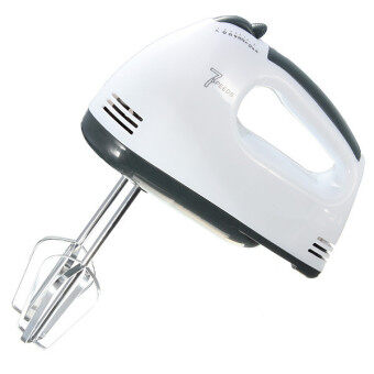7 Speed Electric Hand Mixer Whisk Egg Beater Cake Baking MainsPowered 180W 220V