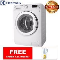 all new electrolux 7kg 5kg washer dryer eww12753 free faber blender