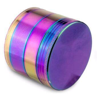Formax420 Rainbow Zinc Alloy Tobacco Herb Spice Grinder 4 layers50mm