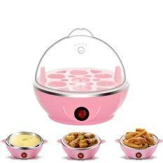 Blue Creative Household Healthy Breakfast Egg Boilers Steamed Egg Custard