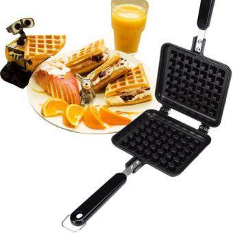 (IMPORTED) DIY Waffle Pan 1 grid Non-stick Mold Bakeware Pan MakerIron Mould Cookie Cake Muffin