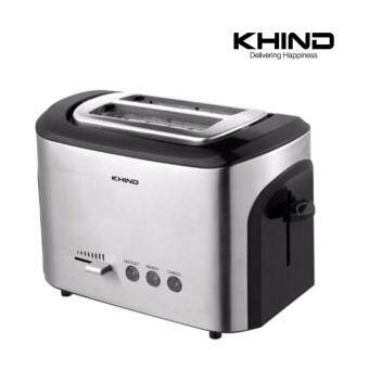 KHIND Bread Toaster BT12SS Stainless Steel