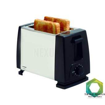 KHIND BT802 Bread Toaster 2 Slide (Stainless Steel)