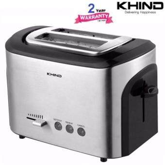 KHIND SIGNATURE SERIES BT12SS BREAD TOASTER (2 SLICES)
