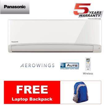(NEW MODEL) PANASONIC 1.5HP AIR CONDITIONER CS-PV12TKH / CU-PV12TKH *FREE BACKPACK