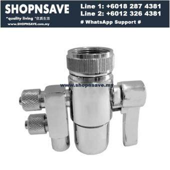 SHOPNSAVE 2 ways faucet adapter,water filter, water dispenser kitchen tap connector, Water Filter Dispenser water dispenser adapter