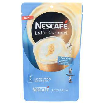 Nescafe Latte Caramel Premix Coffee 5 Sticks x 25g