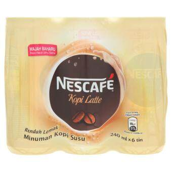 Nescafe Latte Milk Coffee Drink 6 x 240ml