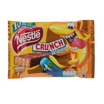 Nestle Crunch Caramel Wafer 10 x 17g