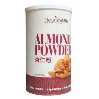 Nourish Asia Almond Powder Organic Beverage Powder 500g