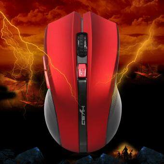 2.4GHz Wireless Portable Optical Gaming Mouse Mechanical Mouses Red