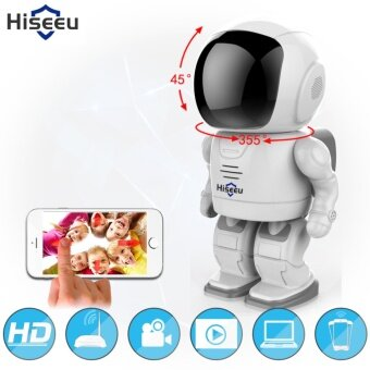 2MP 1080P HD Wireless Hidden Robot Camera Baby Monitor WIFI Camera Pan-Tilt Home Security IP Camera Night Vision CCTV Cam
