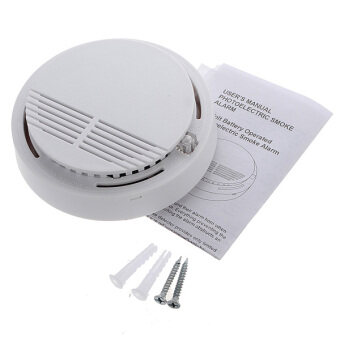 5pcs Wireless Cordless Smoke Detector Home Security Fire Alarm Sensor System Battery