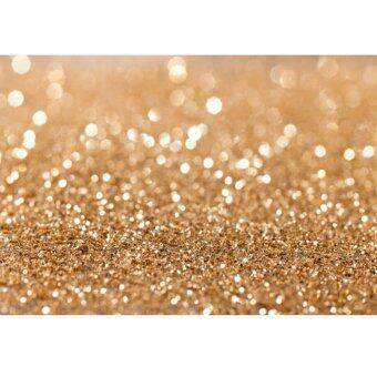 7x5FT Gold Glitter Sequin Spot Background Backdrop Vinyl Photography Studio Prop