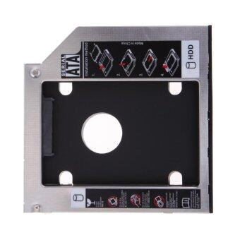 9.5mm Universal SATA 2nd HDD SSD Hard Drive Caddy for CD/DVD-ROM Optical Bay - Intl