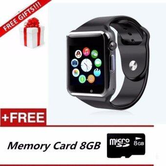 A1 Smart Watch Bluetooth Touch Screen For Android And IOS+8GBMemory Card+Free Gift