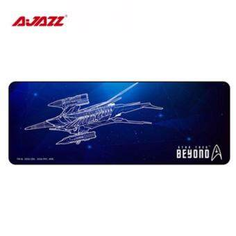 { AJAZZ OFFICIAL MALAYSIA } STAR TREK Gaming mouse pad mice mat 300* 800 * 2 mm,SPEED EDITION ,blue color, LOCK STITCHING ANTISKIDBOTTOM