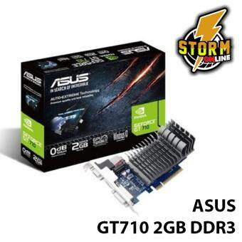 Asus Nvidia Geforce GT710 2GB DDR3 Silent Low Profile PC Desktop Graphics Card