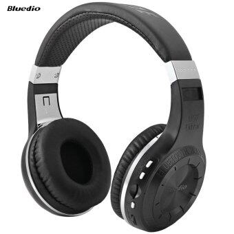 Bluedio H+ Turbine Bluetooth 4.1 Stereo Wireless Headphones Support TF Card with Mic (Black)