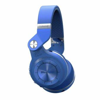 Bluedio T2+ Bluetooth 4.1 Headphones + EDR Wireless Stereo Capabilities + Mic + TF Card Support (Blue)