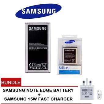 (Bundle) Samsung Galaxy Note Edge N9150 Battery 3000mAh EB-BN915B with Samsung 15W Hi-Speed Charger