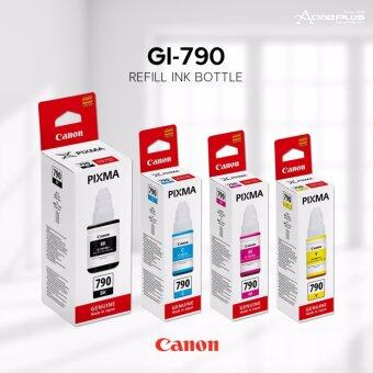 Canon GI-790 BK Ink Bottle - 135ml (Black)