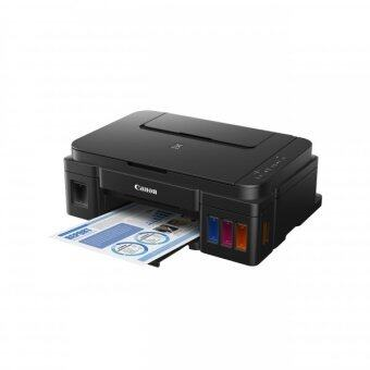 Canon Pixma G2000 All In One Best Printer Using GI-790 Bk/C/M/Y & A4 Size Paper, First Refillable Ink Tank With Low Running Cost / No Fax