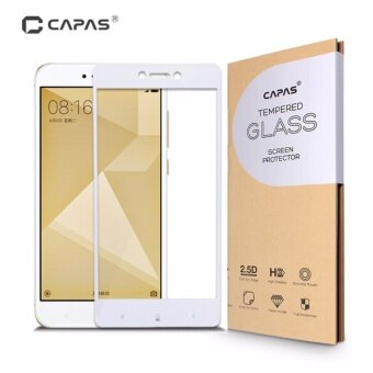 CAPAS Almost Full Cover Protective Film Tempered Glass for Xiaomi Redmi Note 4X 3GB+32GB Screen Protector