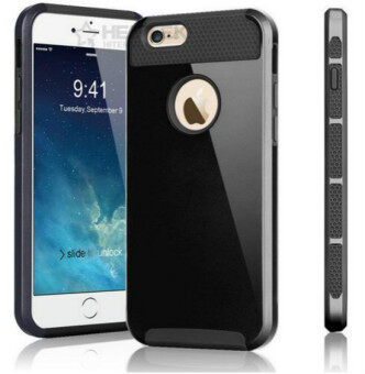 Case Cover for Apple iPhone 5 5s Hard Plastic Back Cover i5 i6 i7Mobile Phone Case(Black)