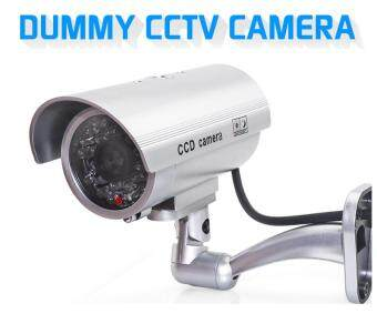 CCTV Dummy Camera Outdoor Battery Operated Blinking Lights DurableAX-11