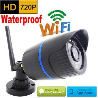 Cctv Ip Camera Wireless Wifi HD 720P Outdoor Waterproof Surveillance Security Mini Cameras Network Cam IR Cut Bullet Camera Infrared Home Security Monitoring Defense Supports memory card