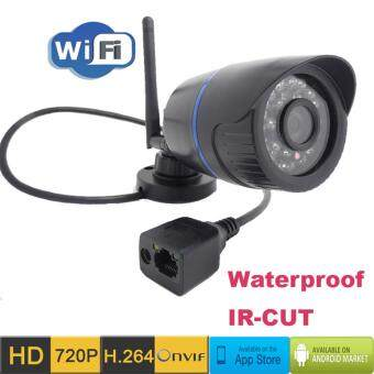 Cctv Ip Camera Wireless Wifi HD 720P Outdoor WaterproofSurveillance Security Mini Cameras Network Cam IR Cut Bullet CameraInfrared Home Security Monitoring Defense