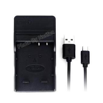 DMW-BCJ13 Ultra Slim USB Charger for Panasonic Lumix DMC-LX5, LumixDMC-LX5GK, Lumix DMC-LX5K, Lumix DMC-LX5W, Lumix DMC-LX7, LumixDMC-LX7GK, Lumix DMC-LX7K, Lumix DMC-LX7W Camera