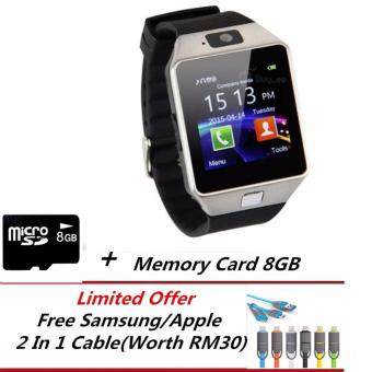 DZ09 Bluetooth Smart Watch For Android And IOS + 8GB Memory Card +Limited Free Gift (Hot Sale)