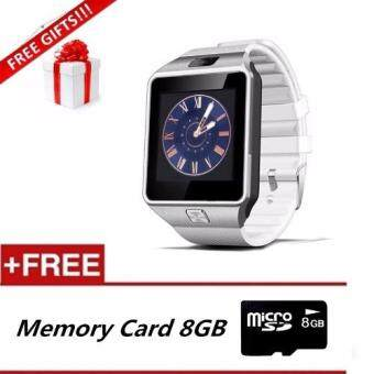 DZ09 Smart Watch Bluetooth Touch Screen for Android and iOS+8GBMemory Card+Free Gift