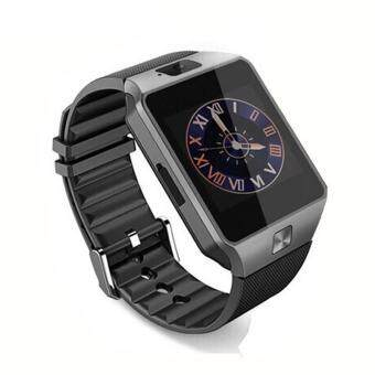 DZ09 Smart Watch Bluetooth Touch Screen Phone Mate GSM SIM forAndroid IOS Samsung HTC LG (Black)