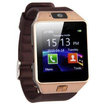 DZ09 Smart Watch Bluetooth Touch Screen Phone Mate GSM SIM forAndroid IOS Samsung HTC LG (Gold)