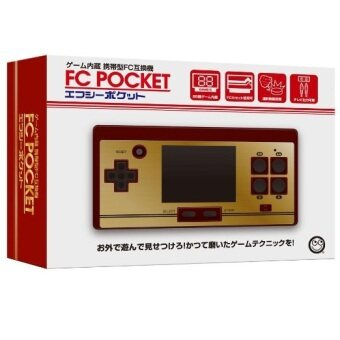 FC Pocket Handheld built in 472 games + Catridge Tape 128 games in 1(non repeat)