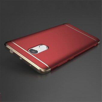 For Redmi Note 4 Hybrid 3 in1 Case Hard Plastic/PC matte Phone Case soft silicone/ TPU Phone Cover Shockproof Phonecase /Phone Protector for Redmi Note 4/ Redmi Note4/ RedmiNote4/ Red mi Note 4/redmi note4