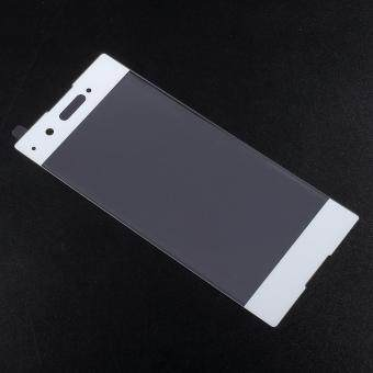 For Sony Xperia XA1 Full Coverage Tempered Glass Screen Protector -White