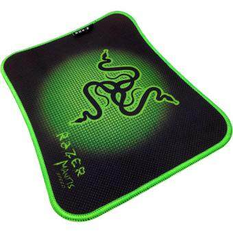 Gaming Mat Non-slip Anti Fray Stitching High Quality Beautiful Mouse Pad (Green & Black)