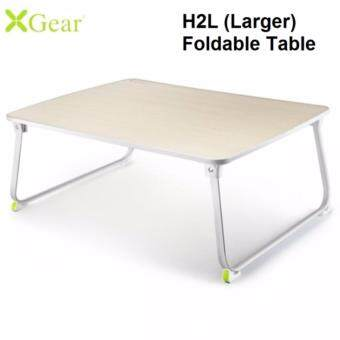 Genuine XGear H2L Foldable Portable Notebook Laptop Dining Desk BedTable Stand