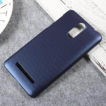 Hard Plastic Back Cell Phone Protector Case for Leagoo M8 - DarkBlue