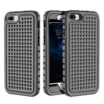 Heavy Duty Hybrid Shockproof Silicone TPU Rugged Armor Hard BackCover Case For Apple iPhone 6 & 6S