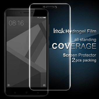 IMAK 2 Pcs Packing Full Screen Complete Covering Soft HydrogelProtector Film for Xiaomi Redmi 4X