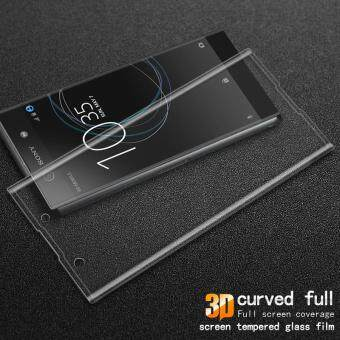 IMAK Complete Covering 3D Curved Tempered Glass Screen Protectorfor Sony Xperia XA1 - Transparent